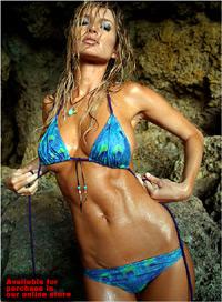 All Marissa miller painted on bikini
